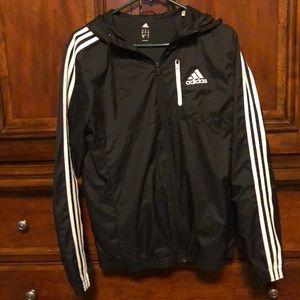 Adidas men's windbreaker jacket